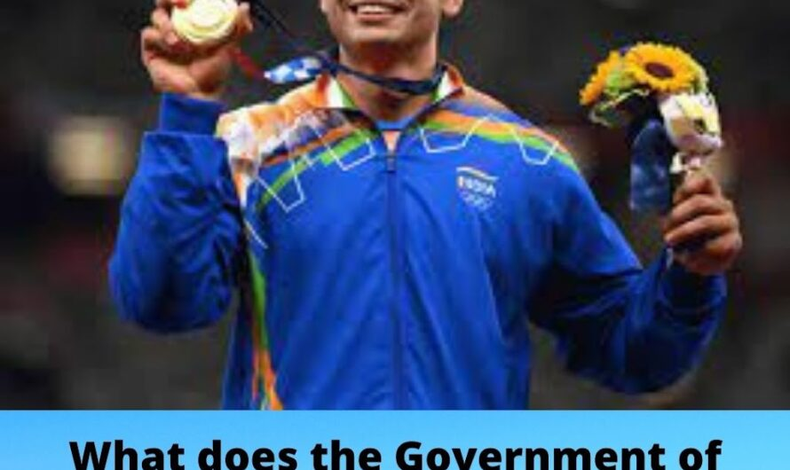 What does the Government of India do to improve India's performance in the Olympics?